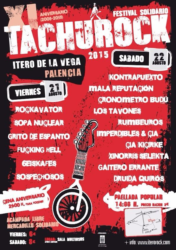 Festival Tachurock 2015 Itero de la Vega